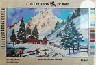 Needlepoint tapestry painted canvas Landscape 20x24 11561 Collection DArt