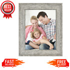 85 x 11 Tabletop Picture Frame Wall Hanging Photo Home Decor Rustic Gray NEW