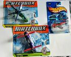 Mattel Matchbox Helicopters Cargo Force  Hot Wheels Madd Propz Airplane Lot New