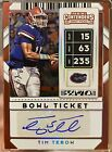 Panini Confirms 2010 Playoff Contenders Tim Tebow Inscription Variations 11