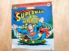 Vintage 1978 Superman Light Up the Tree Mr President 33 1 3 RPM Record TESTED