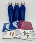 Weight Watchers WW 3 Steel Water Bottles 2 Medium Bags  Exercise Band Workout