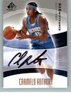 2004-05 UD SP Game Used SIGnificance Autograph Auto #CA Carmelo Anthony 023 100