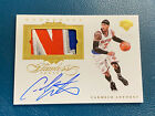 2015-16 Flawless Carmelo Anthony Momentous Game Used Patch Auto 22 25 Knicks