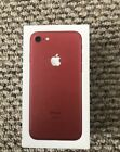 apple iphone 7 unlocked phone 128 gb red excellent condition USED