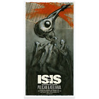 ISIS and Pelican concert poster Derek Hess Signed  Numbered Edition SOLD OUT
