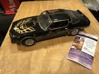 Smokey And The Bandit Burt Reynolds Signed Trans AM 118 Scale Car JSA certified