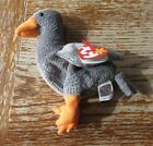 Rare ty, TY Honks the Goose Beanie Baby w/ Multiple Errors and Flat Tush Tag!