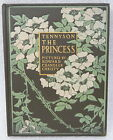 1911 Alfred Tennyson The Princess Antique Book Illustrated NICE