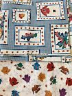 Vintage Daisy Kingdom Beary Fall Day Patch  Presents fabric
