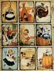9 Thanksgiving Pocket Craft Card Inserts Card Making Scrapbooking Party Favors