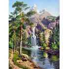 5D Full Drill Diamond Painting Landscape Embroidery Cross Crafts DIY Mural Gifts