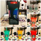 Starbucks Color Changing Cups 5 Pack Confetti Cups Rainbow Straws Plus More