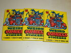1980 Topps Weird Wheels Trading Cards 5