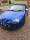 LARGER PHOTOS: 2004 mgf for sale spares or repair