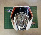 KTM 690 Enduro R Headlight Assembly with Mask and Decal