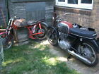 LARGER PHOTOS: Job-lot of Honda CB72 parts. Nearly 2 bikes plus loads of spares.