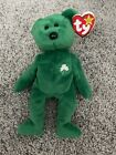 Retired Ty Beanie Baby Erin The Irish Bear With Errors Excellent Condition