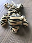 Ty Beanie Baby, Stripes The Tiger, 1995 Retired, Pvc Pellets
