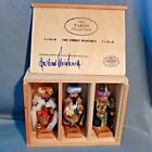 Set 3 STEINBACH Three Wise Men Kings Nutcracker Nativity Germany Taron LE 6