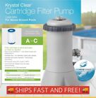 BRAND NEW Intex 1000 GPH Easy Set Above Ground Pool Filter Pump SHIPS FAST