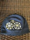 NEW NWT Janie And Jack Girls Knit Beanie Hat 12 24 Months Blue Yellow
