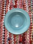 """VINTAGE FIESTA DEEP PLATE IN TURQUOISE 8 1/2"""". Excellent Condition"""