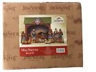 Used Jim Shore 2007 Mini Nativity Complete With 10 Pieces Heartwood Creek + Box