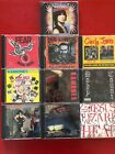 cds RAMONES iggy FEAR dictators DEAD KENNEDYS gbh CIRCLE JERKS lizard BODY COUNT