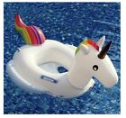 DMAR Unicorn Pool Floats for Kids Inflatable Rainbow Pool Float Toddler Water To