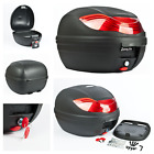 32L Universal Key Lock Motorcycle Top Box Helmet Storage Large Scooters  Mopeds