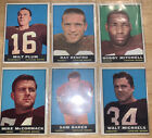 1961 Topps Football Cards 14