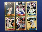 2012 Topps Mini 1987 Style 6 Card Lot All Different