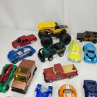 Hot Wheels Matchbox Ertl Diecast Car Lot 50+ Trucks Tractor Emergency Vehicles