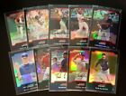 2004 Bowman Chrome Refractors Lot 10 All Different