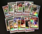 2008 Bowman Chrome Refractors Lot 14 All Different with RC