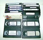 CHILD GENERAL PSYCHOLOGY VHS VIDEO TAPES LOT TEACHING ADULT EDUCATION GUIDE VCR