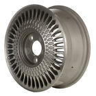 15x6 Snowflake Design Refurb Cadillac Alloy Wheel Machined and Flat Silver 1646