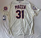 Authentic Majestic, 60 4XL NEW YORK METS MIKE PIAZZA COOL BASE Jersey