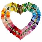 Lot Multi Colors Cross Stitch Cotton Embroidery Thread Floss Sewing Skeins