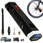 Rechargeable Wireless Air Pump Car Bicycle Electric Tire Auto Inflator w Light