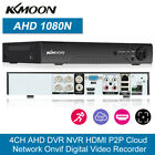 OWSOO 4CH Channel DVR 1080P AHD H265+ Video Recorder for Security Camera System