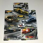 5 Car Set  Fast TUNERS  Hot Wheels Fast  Furious Case F