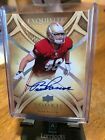 2009 UPPER DECK EXQUISITE COLLECTIONS BEAR PASCOE ROOKIE AUTOGRAPH # 10 25 CARD