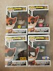 Funko Pop Crash Bandicoot Lot of 4 Bestbuy Gamestop Hot topic and TRU Exclusives