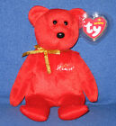 TY HAMLEY the BEAR BEANIE BABY - (HAMLEY'S EXCLUSIVE) - MINT with MINT TAG