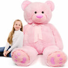 Giant Teddy Bear Large Stuffed Animal Toys Big Teddy Bear for Girlfriend 5 Feet