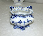 Royal Copenhagen Blue Fluted Full Lace Open Sugar Bowl 1112 First Quality