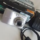 Fujifilm FinePix A Series A170 Camera - Silver w/box, case, manuals