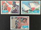 1966 Topps, Batman B Series, lot of 6 in Excellent Condition